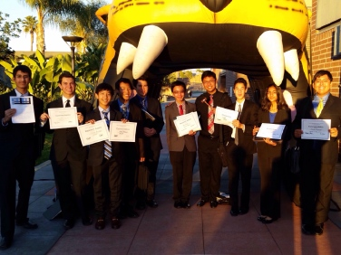 THHS MUN Delegation, CVHSMUN, December 2015
