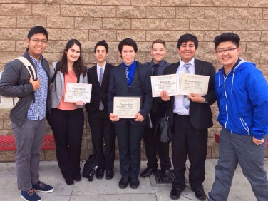 Advanced Delegation, MVHSMUN, January 2016